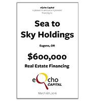 Sea to Sky Holdings
