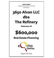 3650 Alvan LLC dba The Refinery