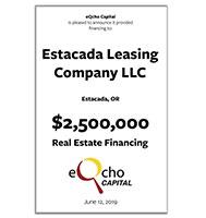 Estacada Leasing Company, LLC