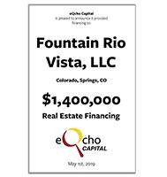Fountain Rio Vista LLC