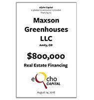 Maxson Greenhouses LLC