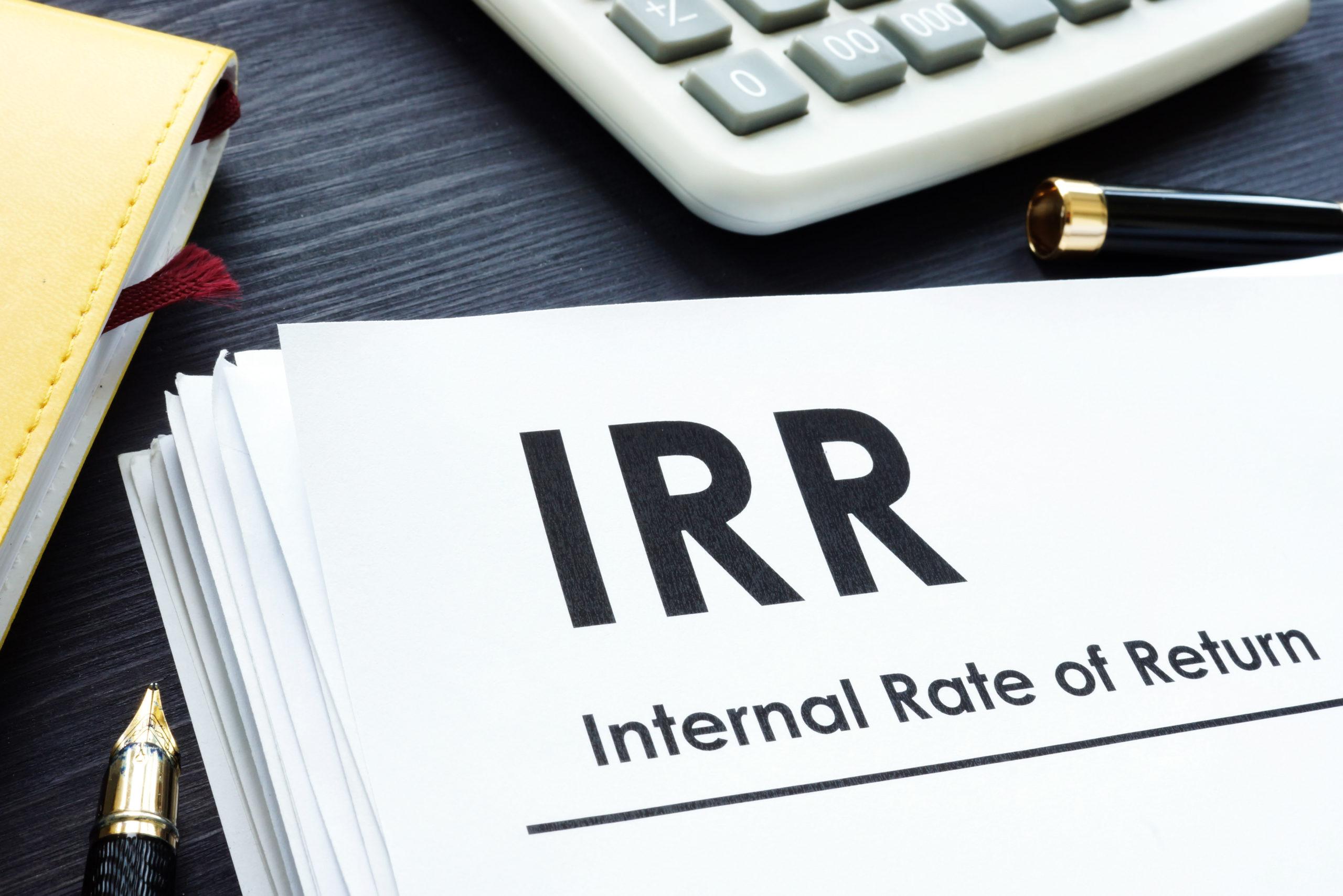 irr vs internal rate of return